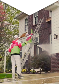 At Team H2O Spray , we have created a unique and proven 3-step process that restores your home's luster and guarantees cleanliness to the exterior of your home.